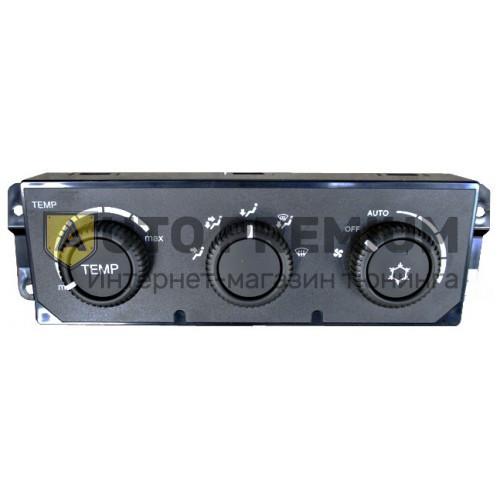 Блок управления отопителем (под кондиционер) для Лада Приора, 21703-8121020-00