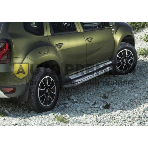 Пороги на Renault Duster (2012-2015...) BMW -style v1